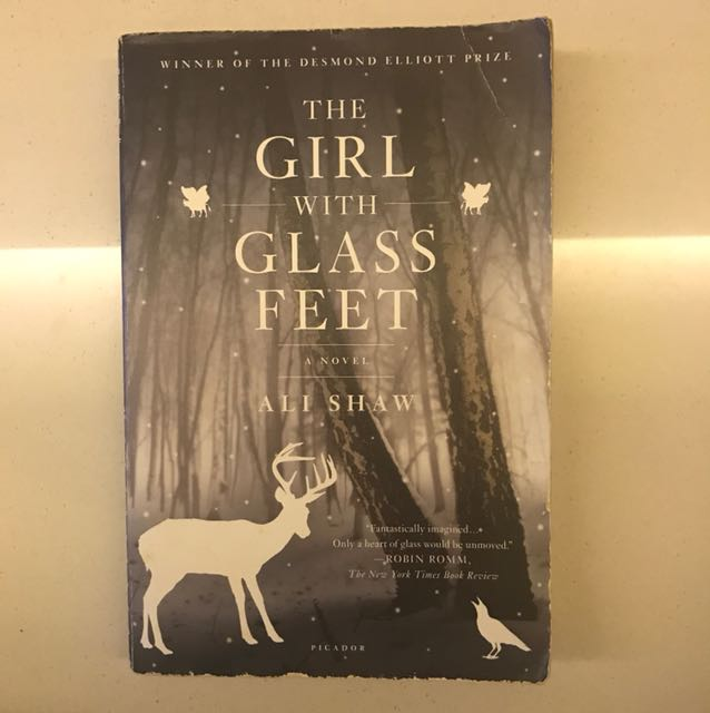 The Girl With Glass Feet Books Stationery Fiction On Carousell
