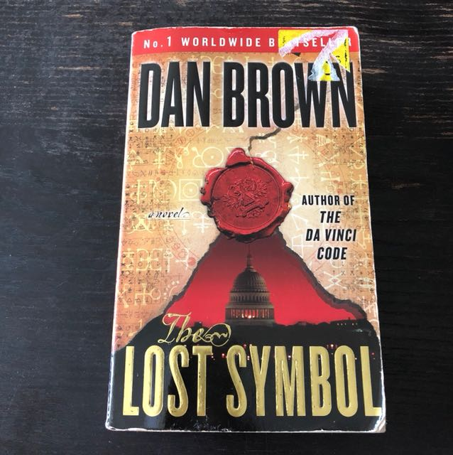 The Lost Symbol From Dan Brown Books Stationery Fiction On Carousell