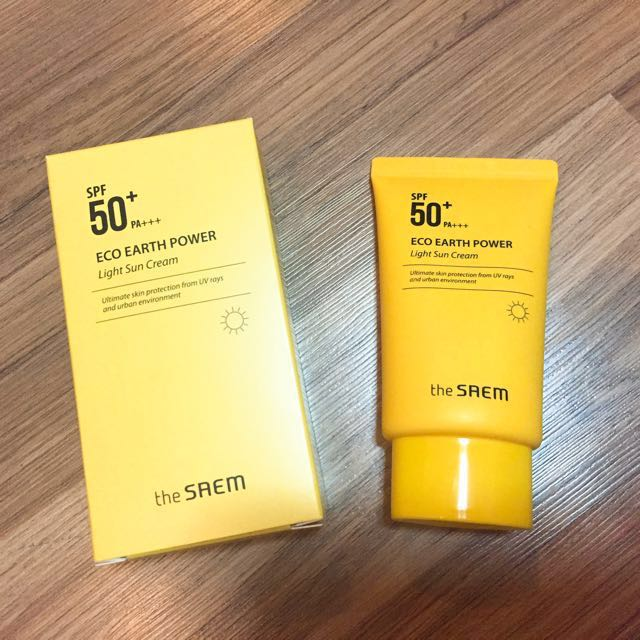 The Saem Eco Earth Sun Cream Spf 50