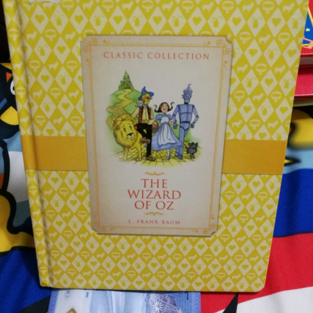 The Wizard Of Oz By L. Frank Baum Classic Collection Hardbound Book