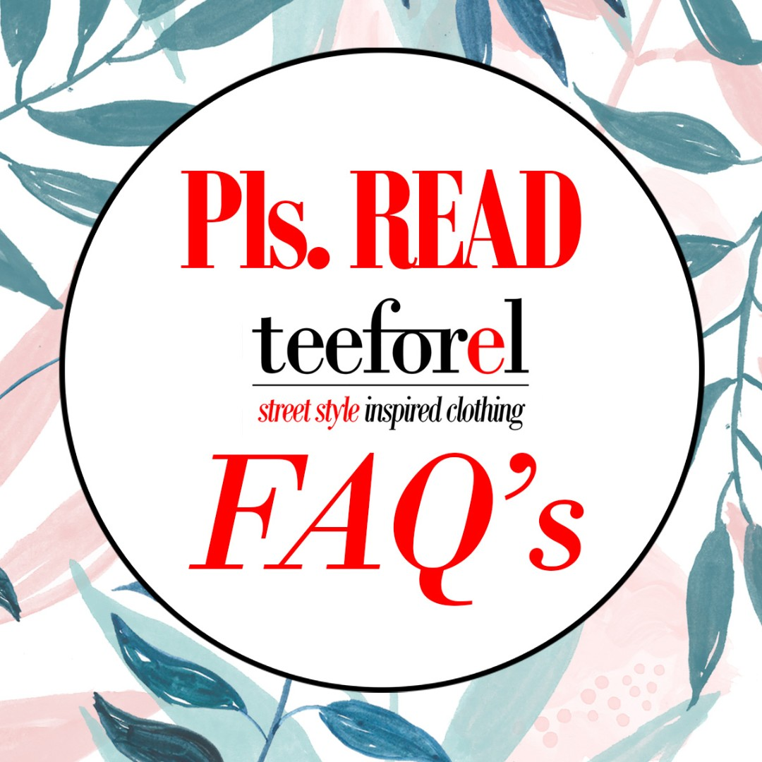 TO SAVE TIME LADIES! PLEASE READ OUR FAQ'S!