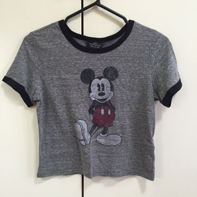 TOPSHOP Mickey Mouse Top