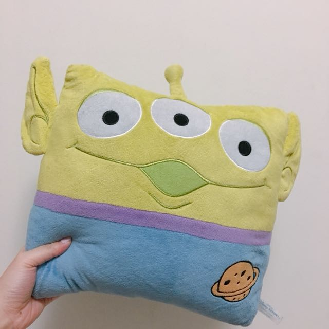 Toy story alien pillow