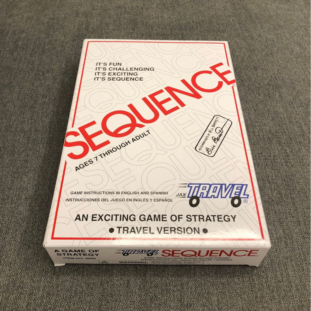 Travel Sequence Board Card Game By Jax Toys Games Board Games