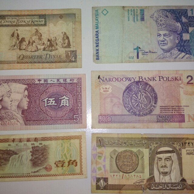 Uang lama luar negeri