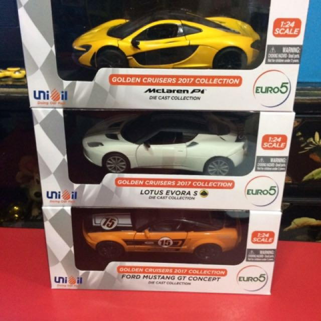 Unioil Golden Cruisers Toys Games Toys On Carousell