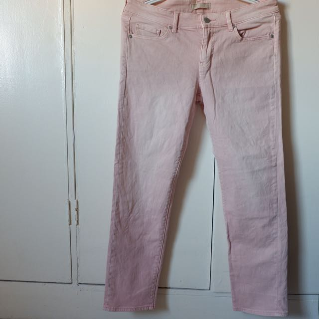 Uniqlo Light Pink Jeans
