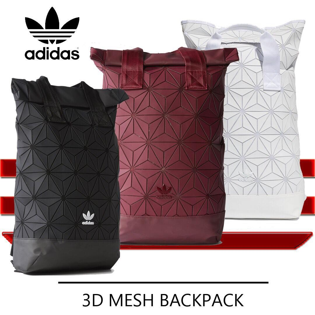 d790ec86858b Unisex Adidas 3D Roll Top Backpack - The words Inspired by Adidas ...