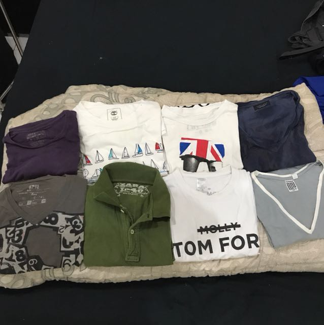 various branded t shirts