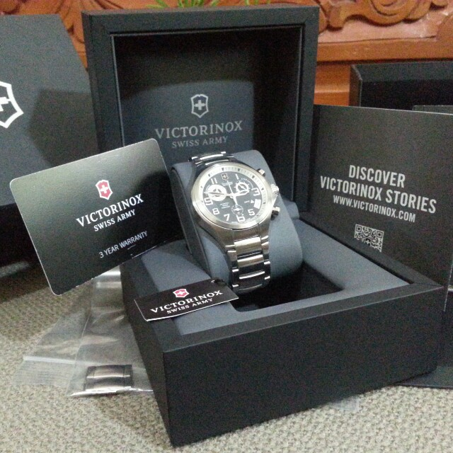 Victorinox Chronograph Watch Original