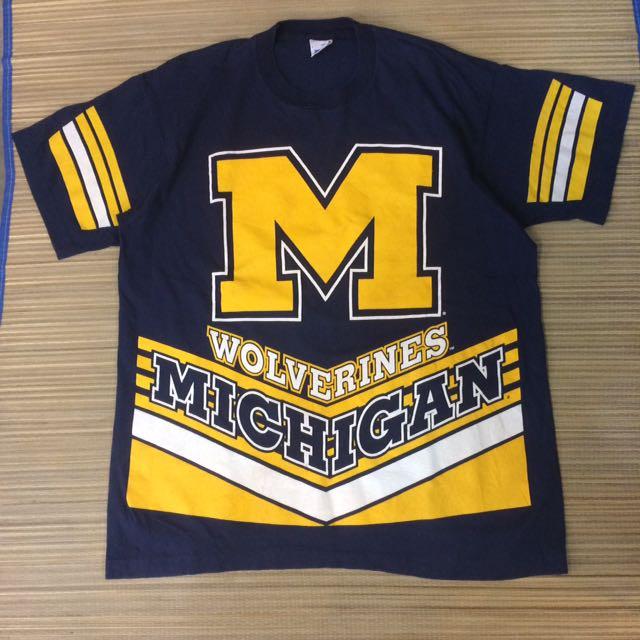 vintage Wolverines Michigan american football