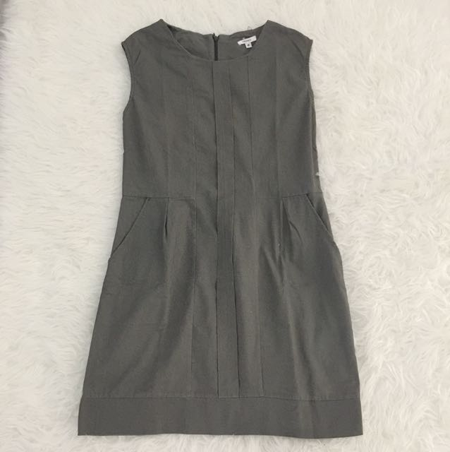 Washed Canvas Dress