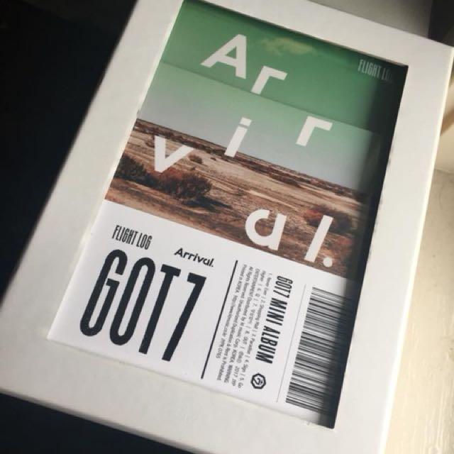 WTS Got7 Arrival Album