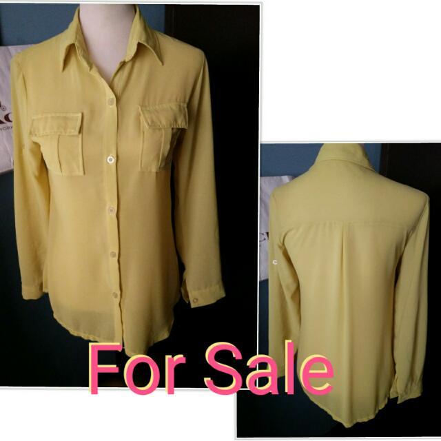 yellow Long Sleeves bought in Bangkok