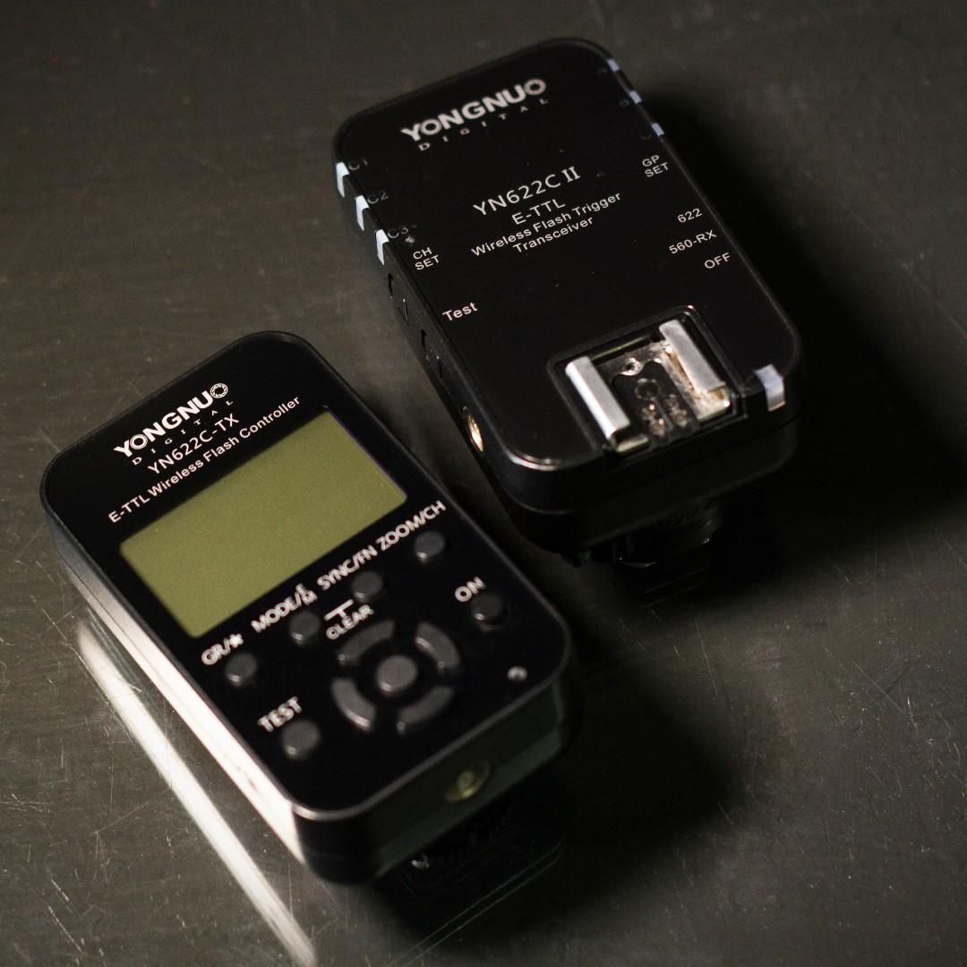 YN 622C 永諾 引閃器 觸發器 flash trigger