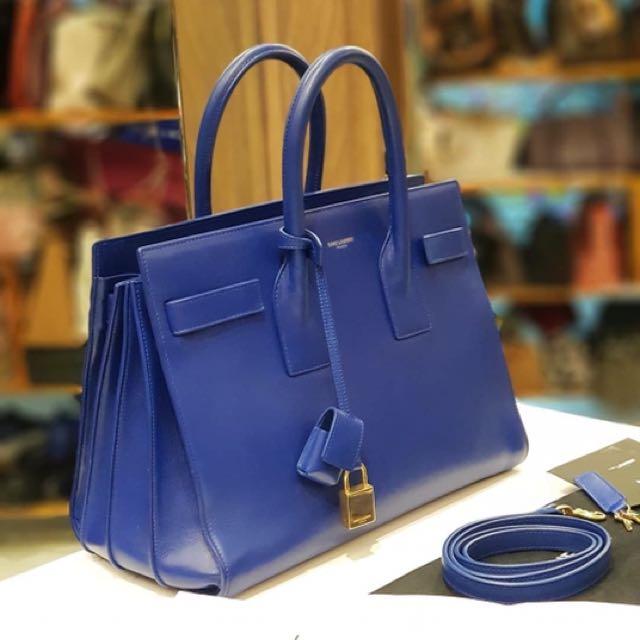 Sav On Bags >> Ysl Sav De Jour Small Tote Bag On Carousell