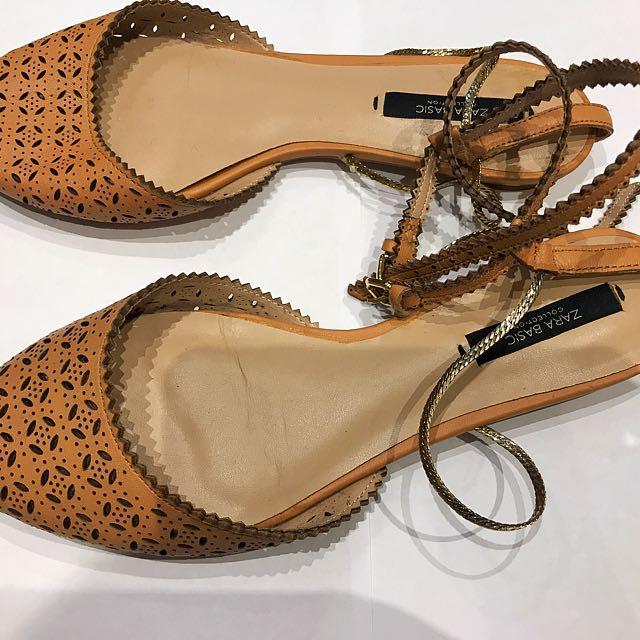 Zara flats - size 38