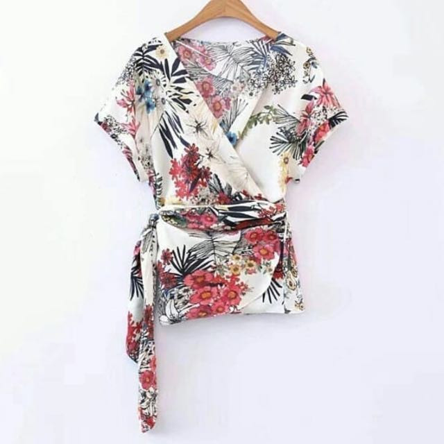 Zara look alike top size L
