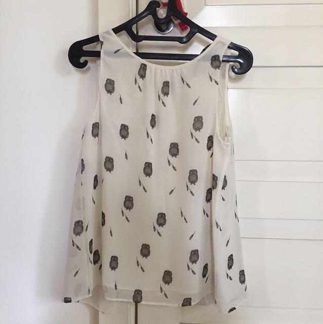 Zara owl shirt