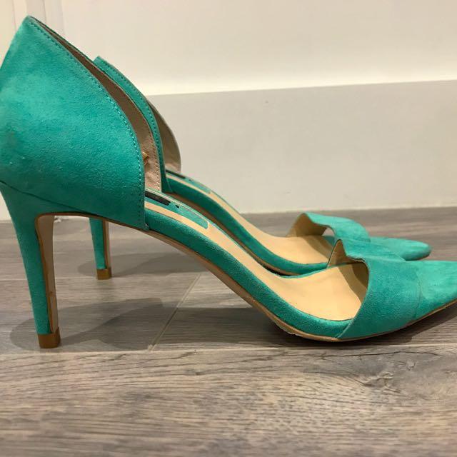 Zara sandal heels size 38