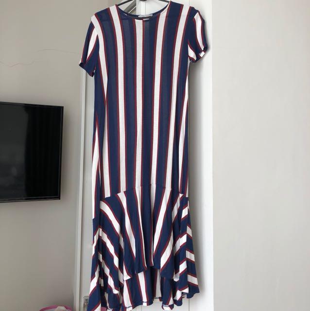 Zara stripes dress