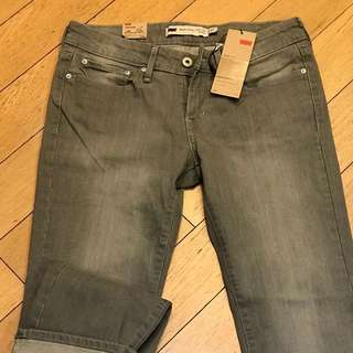Brand new Levi's Slight curve modern rise straight leg jeans
