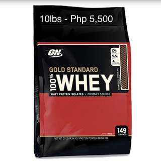 ON 100% Whey GS 10lbs