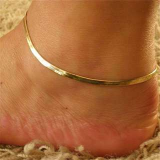 Anklet Gold and silver