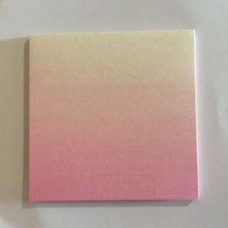 Ombre Pink Note