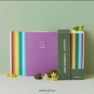 Innisfree monthly diary / planner