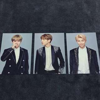 (WTS) WINGS TOUR THE FINAL MINI PHOTOCARDS PC