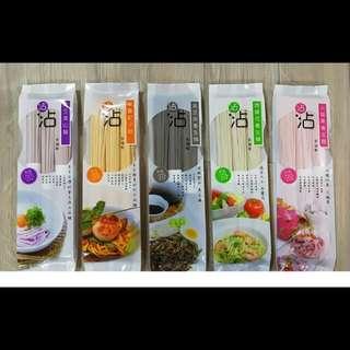5包 沾沾純天然有機養生麺(5款口味)