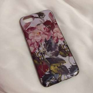 Purple Flowery Case for iphone 6/6s