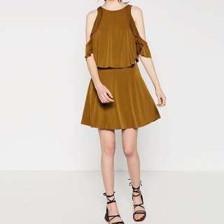 ZARA Frilly Dress