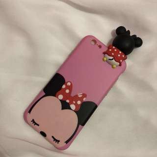 Pink Minnie case for iphone 6/6s