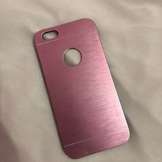 Pink Metal case for iphone 6/6s