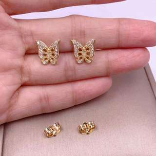 Bangkok rosegold Stud earings