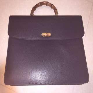 Authentic Gucci briefcase