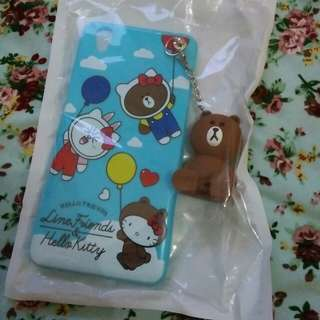 case cartoon hanging dolls oppo