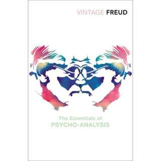 🚚 The Essentials Of Psycho-Analysis