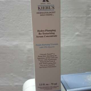 Kiehl's hydro-pumping re-texturizing serum concentrate