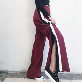 Sale: Track Pants with slit