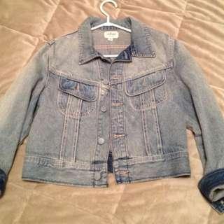 Wilfred Free cropped jean jacket