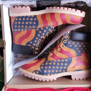 Supreme x timberland boots