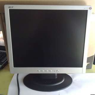 電腦螢幕 屏幕 acer AL1715