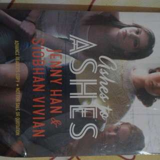 Ashes to Ashes Book by Jenny Han and Siobhan Vivian