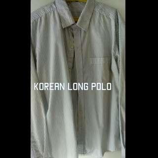 Trendy korean polo for men