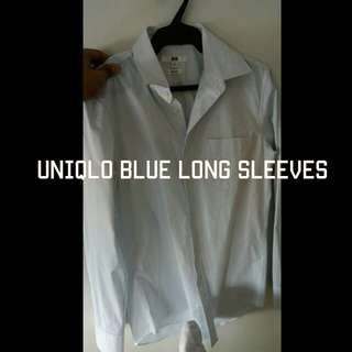 Blue long sleeves for men
