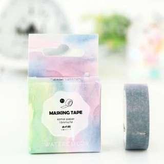 Watercolour Washi Tape