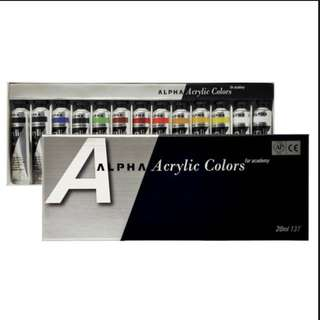 Alpha Acrylic Color for academy 塑膠彩 20ml 13T